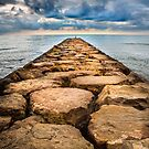 A Rock Pier by Dave Hare