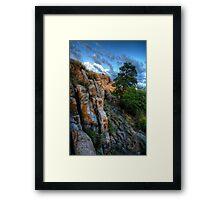 Ridgeline View Framed Print