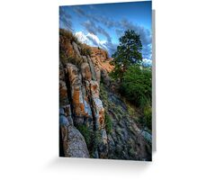 Ridgeline View Greeting Card