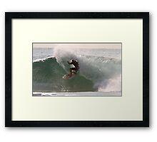 Srfing The Lake #3, Culburra Beach Framed Print