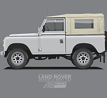 Land Rover Series 3 SWB SoftTop by ARVwerks