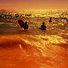 golden shimmer by David Rozario