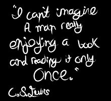 C. S. Lewis on Books by bandreaNRG
