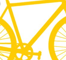 Fixie Bike Sticker
