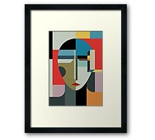 WOMAN OF WHEN Framed Print