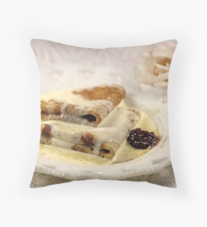 Pancakes for Breakfast Throw Pillow