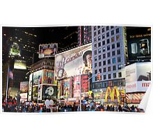Time Square... New York City Poster