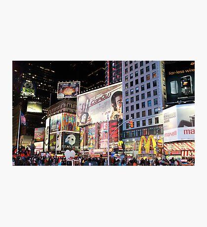 Time Square... New York City Photographic Print