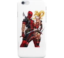 Deadpool and Quinn iPhone Case/Skin