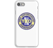 Time Enforcement Commission iPhone Case/Skin
