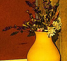 Flowers in a Jar by bicyclegirl