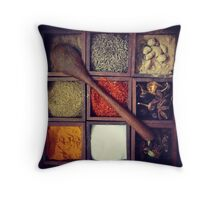 Flavours of India Throw Pillow