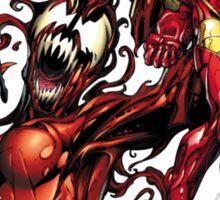 Iron man vs carnage Sticker