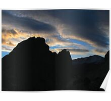 Twilight at Garden of the Gods Poster