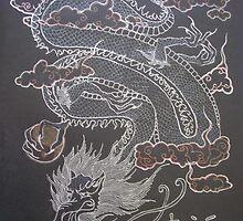Japanese Dragon by blackiris26