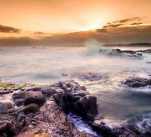 Crowdy Head #187-Ocean in motion series. by Rodney Trenchard