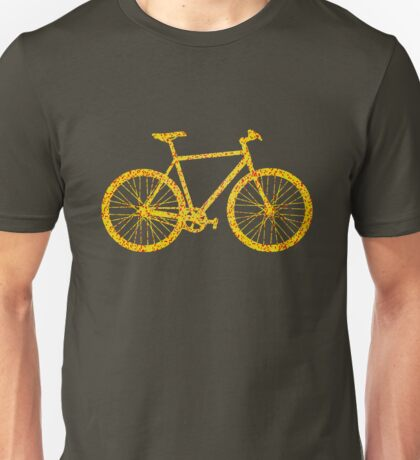 Fixie Bike Bling Unisex T-Shirt