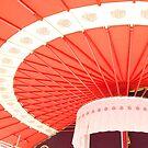 Japanese Shrine Umbrella by Tomoe Nakamura