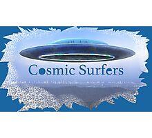 Cosmic Surfers Photographic Print