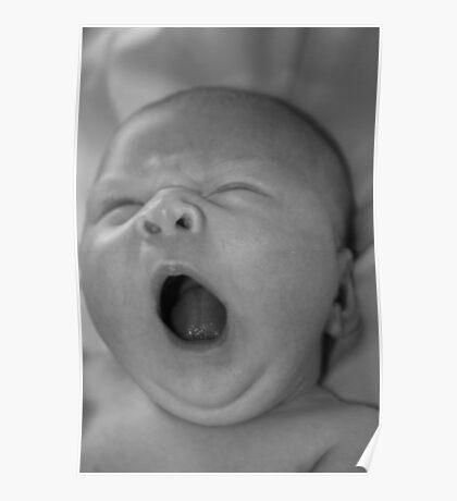 Yawns Poster