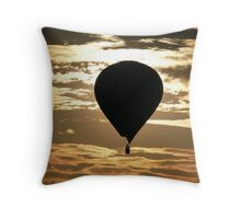 Bristol Balloon Fiesta Throw Pillow