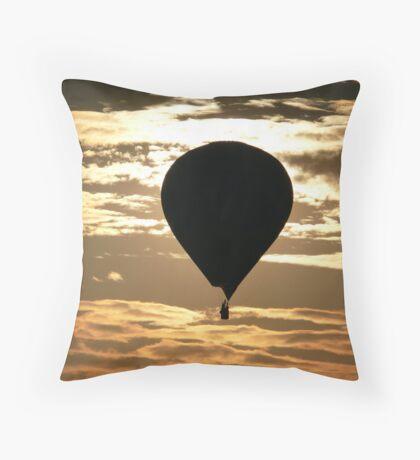 Bristol Balloon Fiesta Throw Pillow
