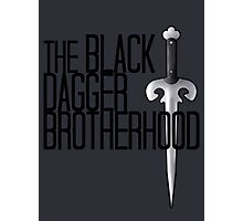 The BLACK DAGGER BROTHERHOOD   [black text] Photographic Print