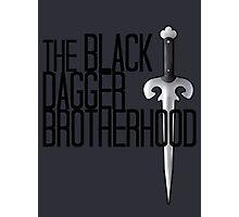 The BLACK DAGGER BROTHERHOOD   [black text] Photographic Print