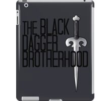 The BLACK DAGGER BROTHERHOOD   [black text] iPad Case/Skin