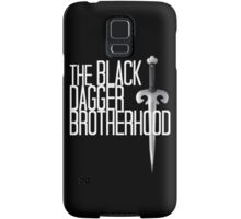 The BLACK DAGGER BROTHERHOOD   [white text] Samsung Galaxy Case/Skin