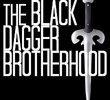 The BLACK DAGGER BROTHERHOOD   [white text] by 8Bit-Paws