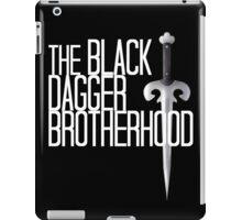 The BLACK DAGGER BROTHERHOOD   [white text] iPad Case/Skin