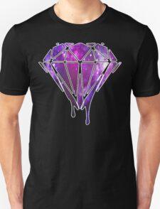 Melting Galaxy Diamond  T-Shirt