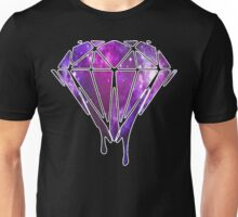Melting Galaxy Diamond  Unisex T-Shirt