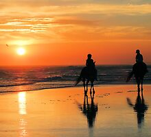 Sunset Riders by Gabrielle  Lees