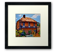 Ghost House - Sofala - NSW - Australia Framed Print