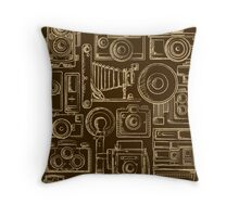 Paparazzi Beige Throw Pillow