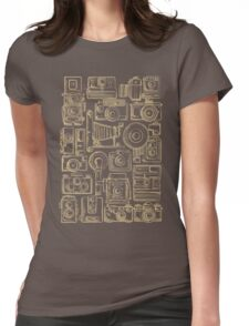Paparazzi Beige Womens Fitted T-Shirt