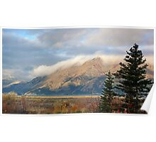 Kluane Lake dawn in the Yukon Poster