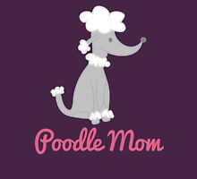 Poodle Mom Womens Fitted T-Shirt