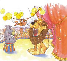 Animal Circus 1 by Esther Boshoff