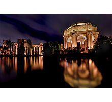 The Palace of Fine Arts Photographic Print