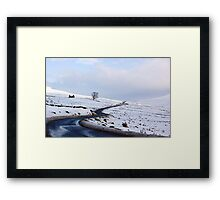 Desolate Living Framed Print