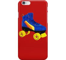 80s Roller Skate iPhone Case/Skin
