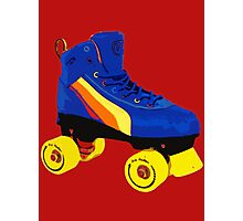 80s Roller Skate Photographic Print