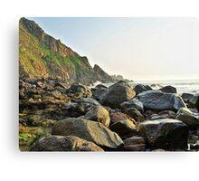 Alderney Coastline Canvas Print