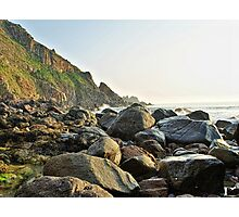 Alderney Coastline Photographic Print