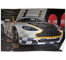 Aston Martin N24 Poster