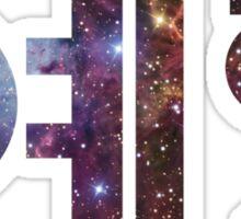 Yehet in hangul-nebula Sticker