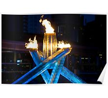 Olympic Cauldron  Poster